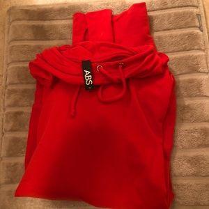 Like new condition red sweatshirt